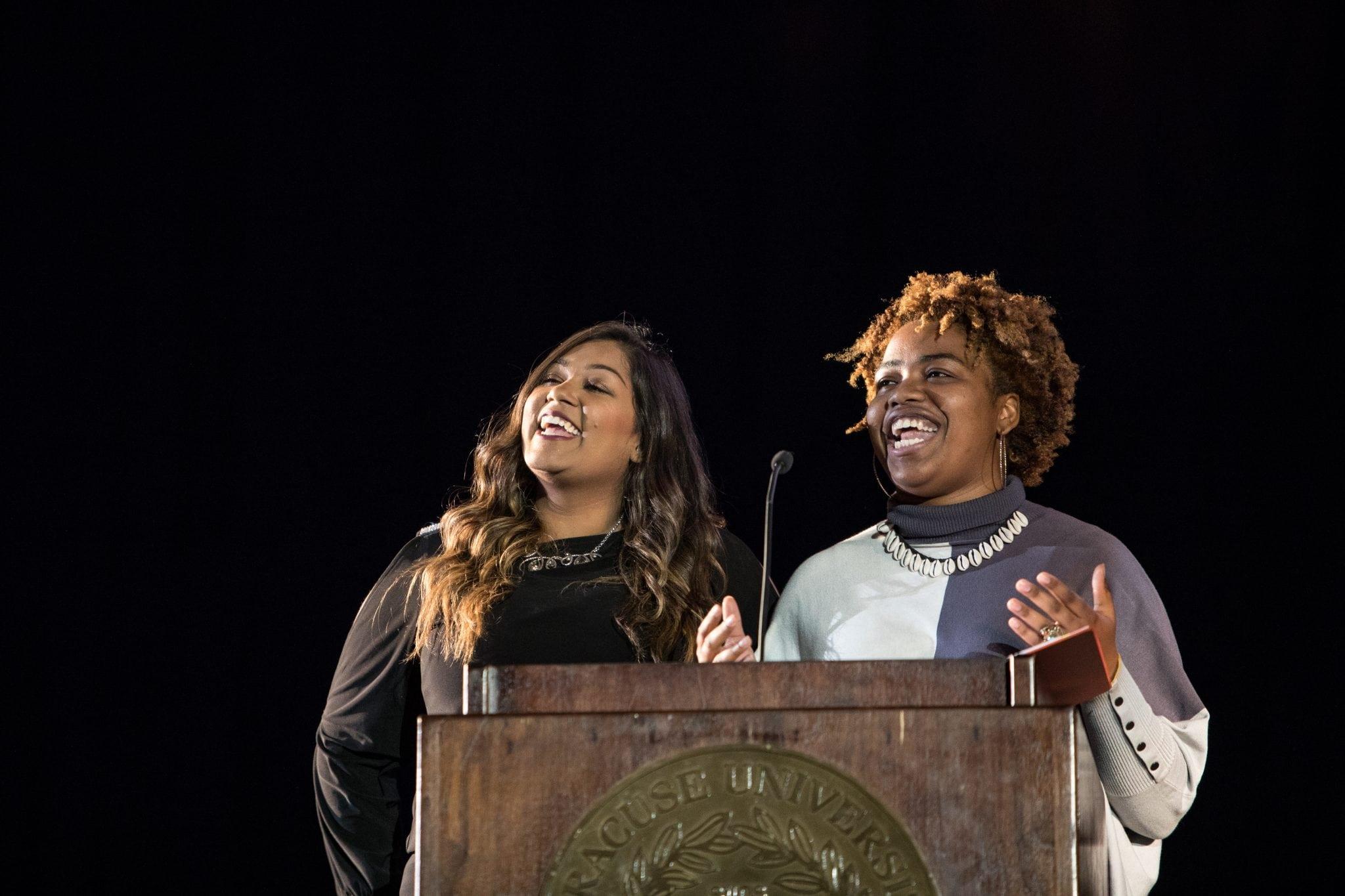 MLK Dinner at Syracuse University