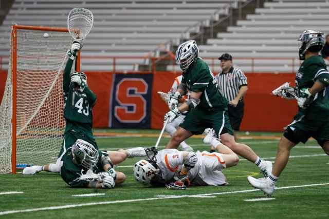 Syracuse men's lacrosse attack vs. Binghamton