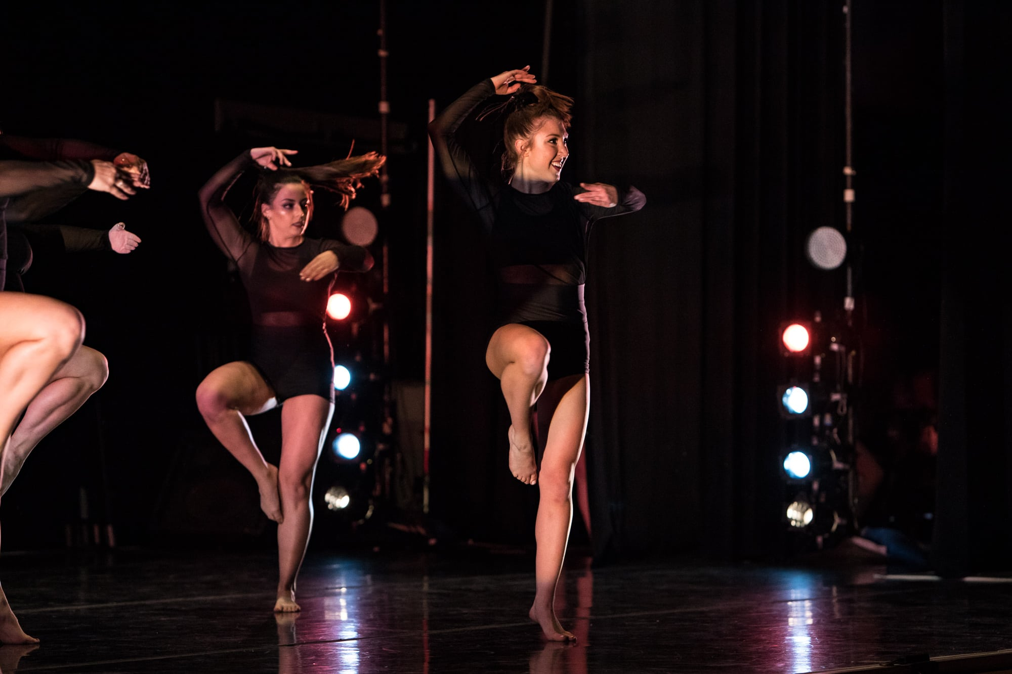 "SU DanceWorks Spring Showcase: Dancers' perform to the song ""Swish Swish"" by Katy Perry."