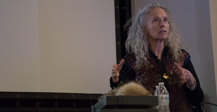 Title Kiki Smith speaking at Syracuse University.