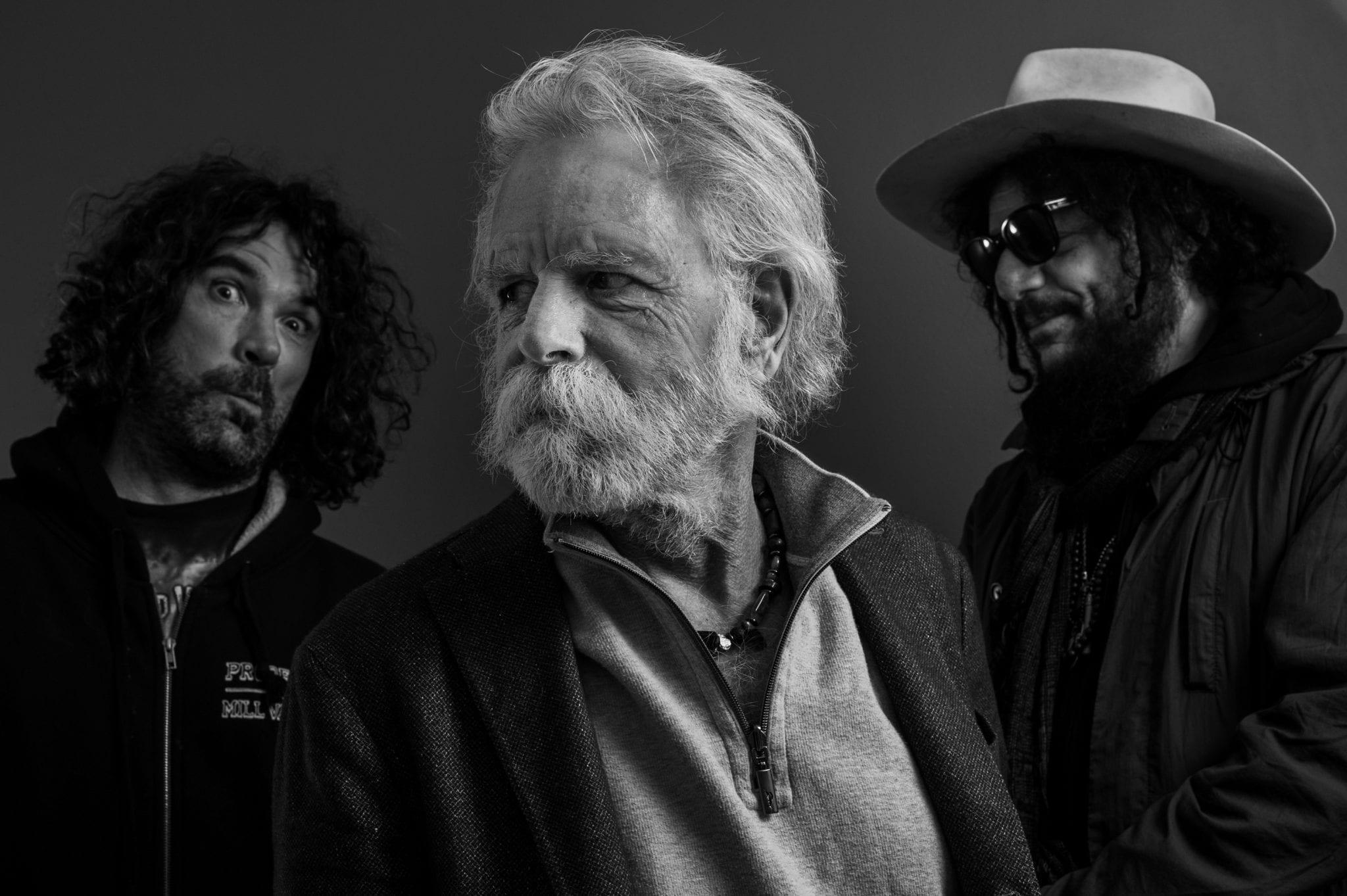 Portrait: Bob Weir and Wolf Bros
