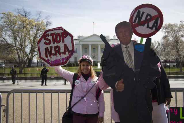 Code Pink activist outside White House
