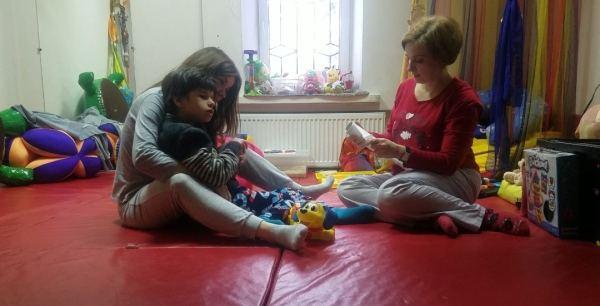Severely disabled Ukrainian children depend on American