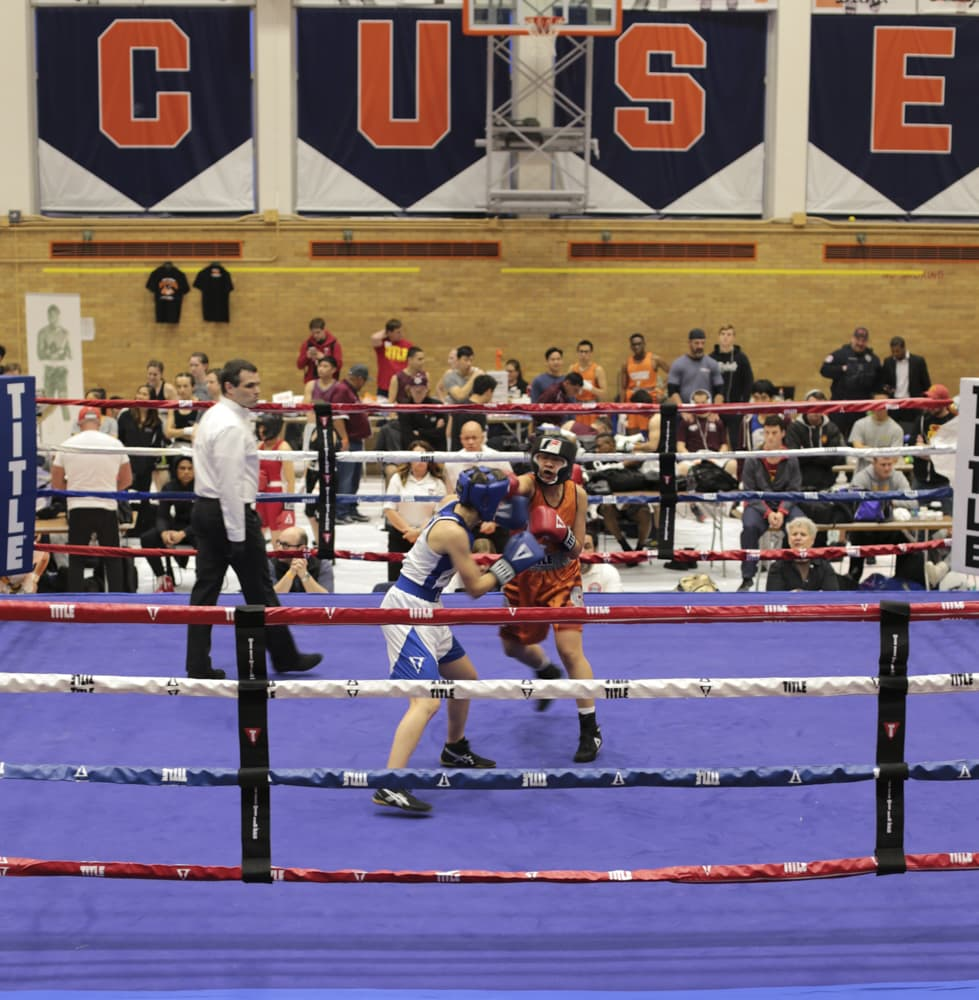 U.S. Intercollegiate Boxing Association's national tournament at Syracuse University on March 23, 2019