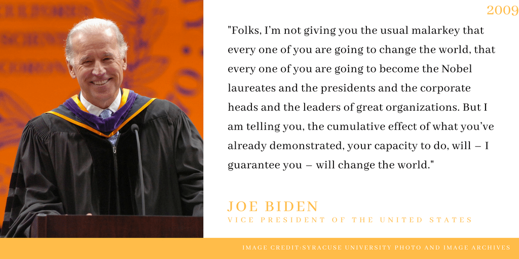 Joe Biden delivers 2009 commencement address