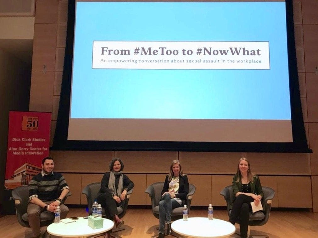 #MeToo to #NowWhat Panelists