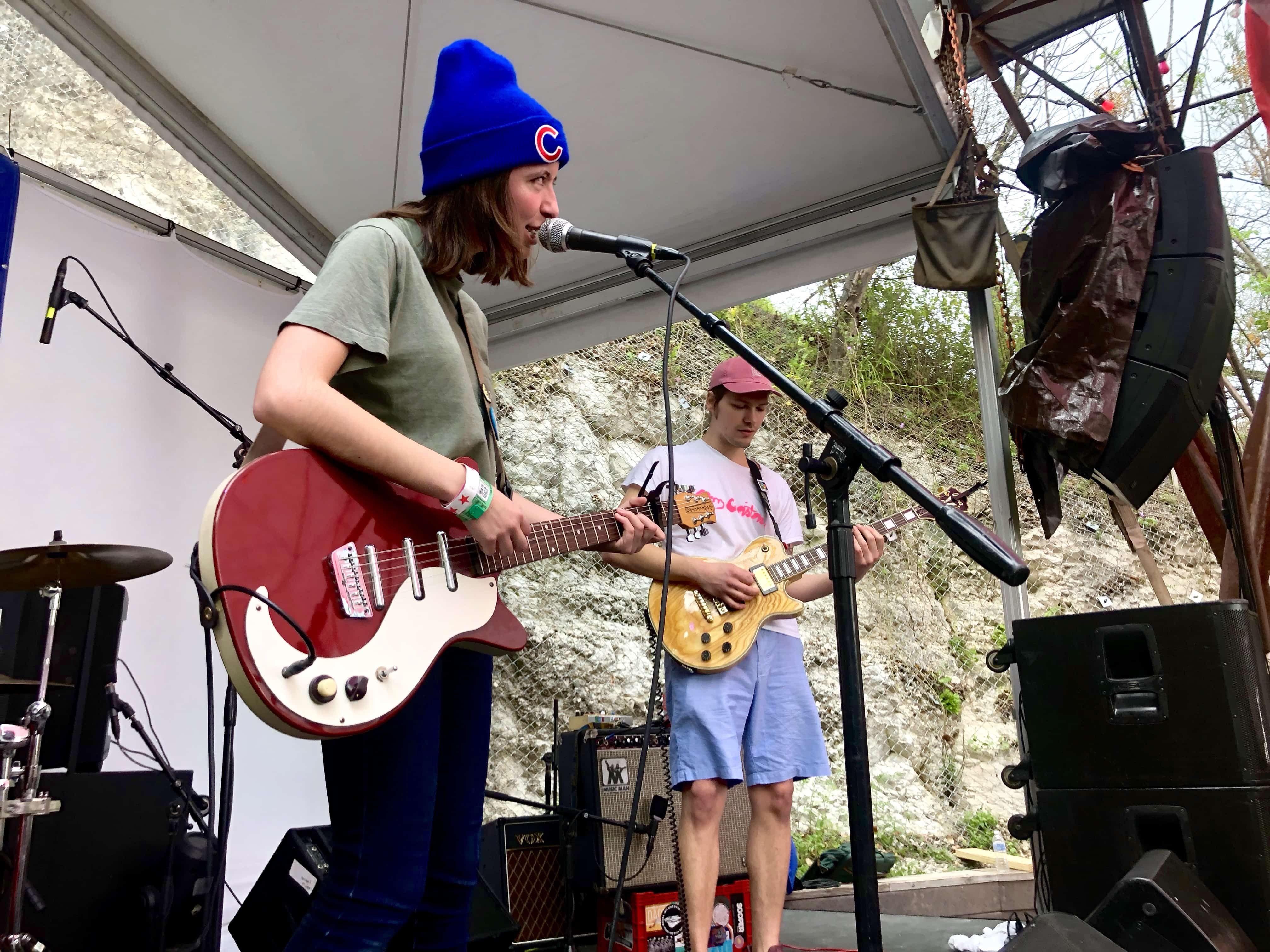 The Ratboys at SXSW music festival 2019.