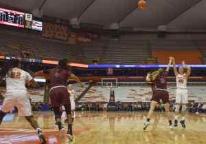 Syracuse women's vs. Maryland Eastern Shore