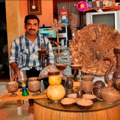 Kitchen Magician Cherry Wood Cabinets Want To Do Away With Plastics? Meet The Kerala ...