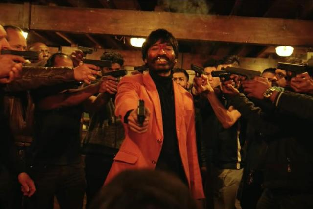 """Look: Dhanush is a fierce gangster in """"Jagame Thandhiram"""" trailer 