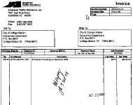September invoice