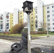 German camera burned