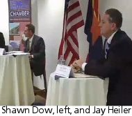 Shawn Dow, left, and Jay Heiler