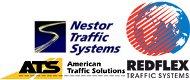 Nestor, ATS, Redflex logos