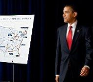 President Obama rail plan