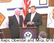 Reps. Oberstar and Mica