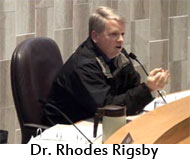 Dr Rhodes Rigsby