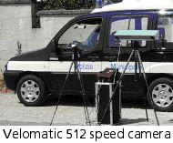 Velomatic 512 speed camera