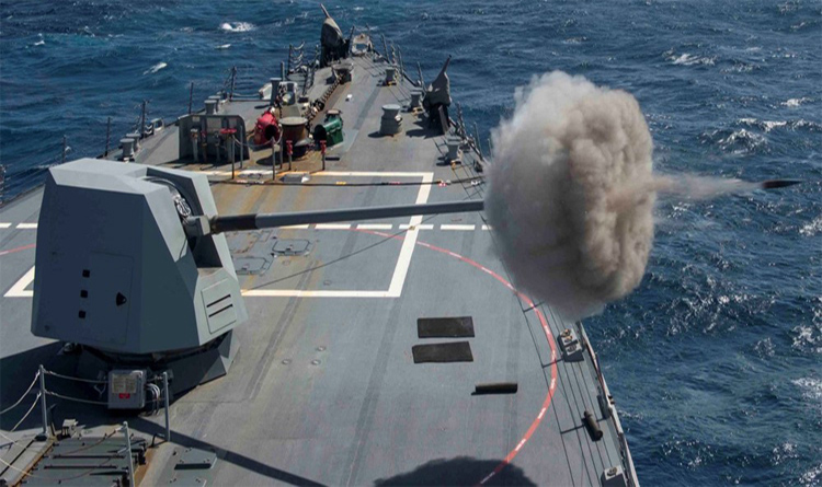 US Govt. approves sale of $1 billion MK-45 naval guns to India – Latest Arms Deal