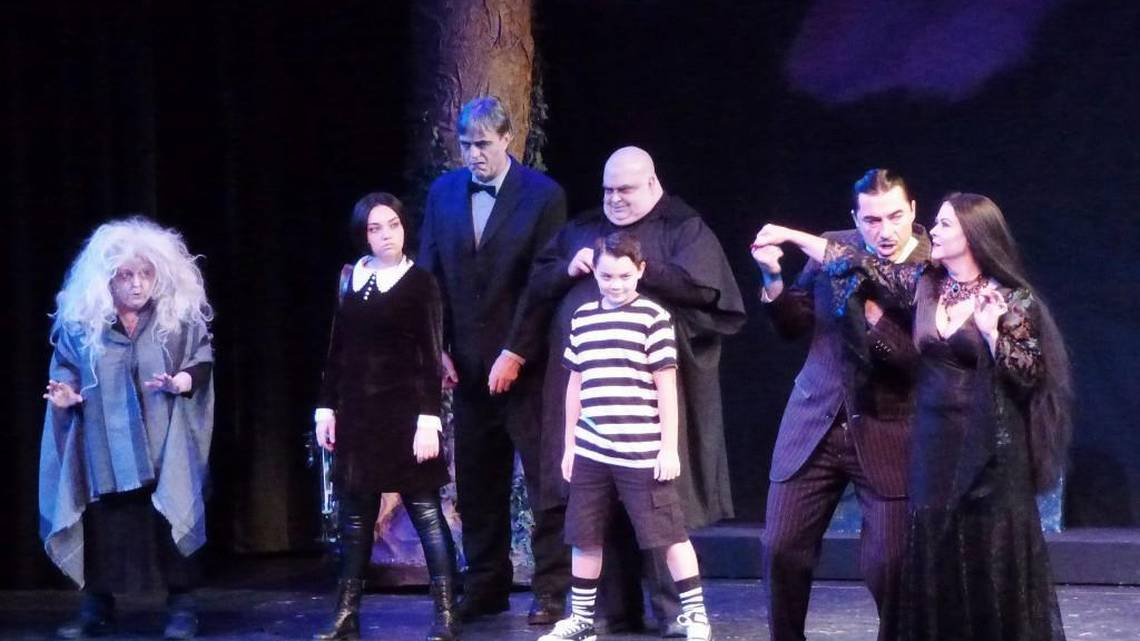 Tacoma Musical Playhouse production of The Addams Family