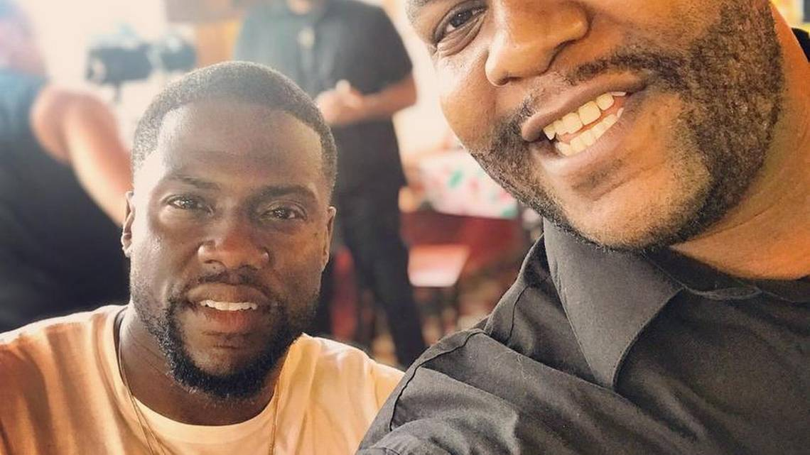 Comic superstar Kevin Hart visits Tacoma to film Comedy