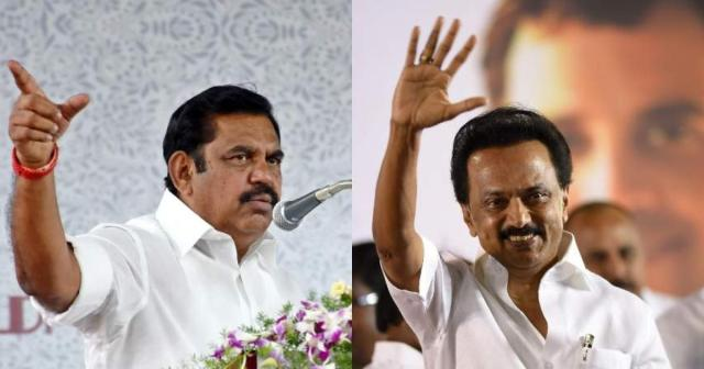 EPS vs Stalin - Are TN parties upholding politics over the relief works?    The New Stuff