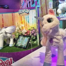 Star Lily - The magical Unicorn from Fur Real Friends. This sweet unicorn stole the whole Hasbro show!
