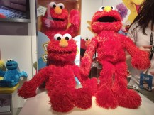 Elmo... oh elmo... he dances and talks and plays games. We love elmo!