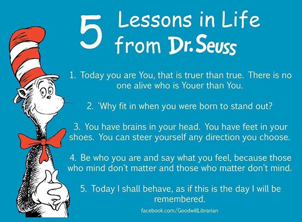 5 Lessons in LIfe