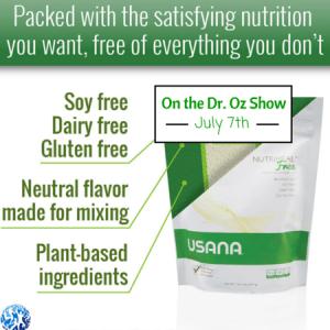 Nutrimeal Free on Dr. Oz Show