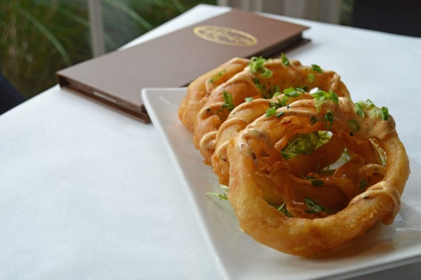 Crispy onion rings at Lola41. Photo: © TNG