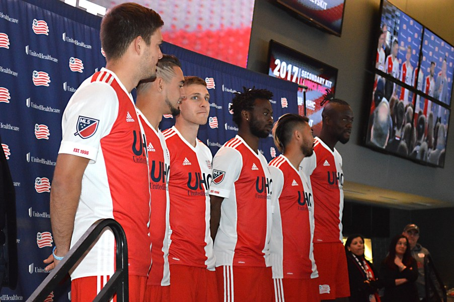 New England Revolution Launch New Secondary Kit
