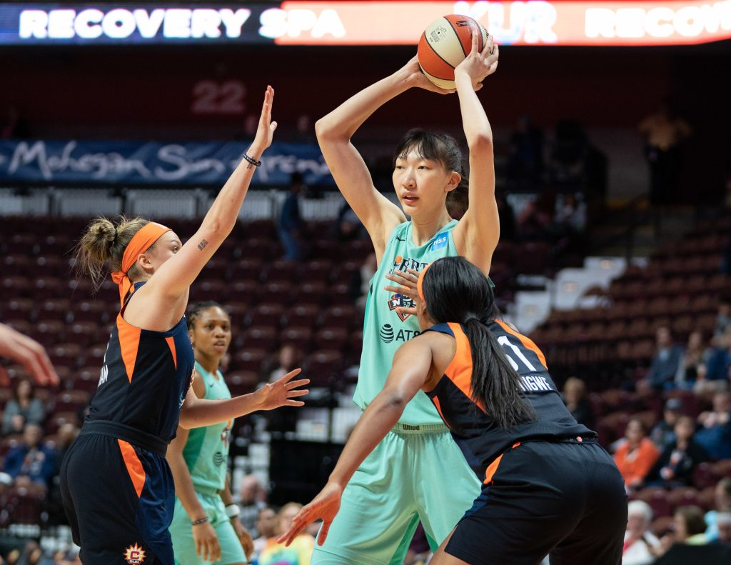 For the New York Liberty, a roster with six rookies means 'more opportunity'