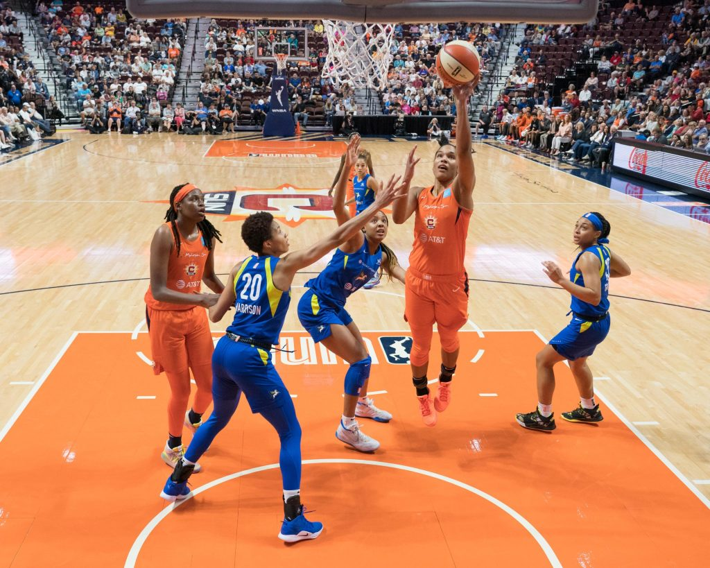 """Dallas Wings Isabelle Harrison: """"I'm not going to stop talking about these things."""""""