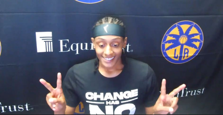 Los Angeles Sparks put culture on display in first practice