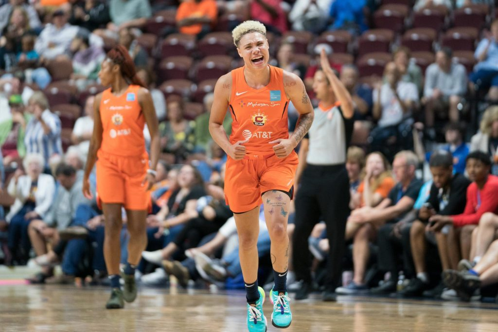 Natisha Hiedeman makes the most of her starting opportunity