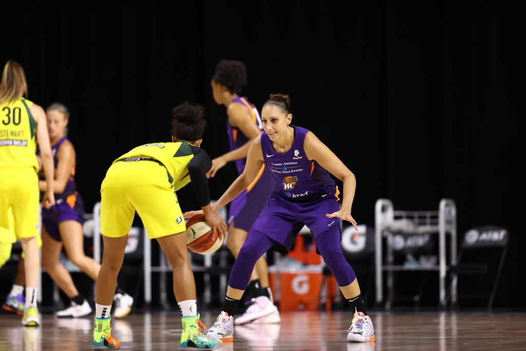 Taurasi avoids a major injury, but Phoenix comes up short against Seattle yet again