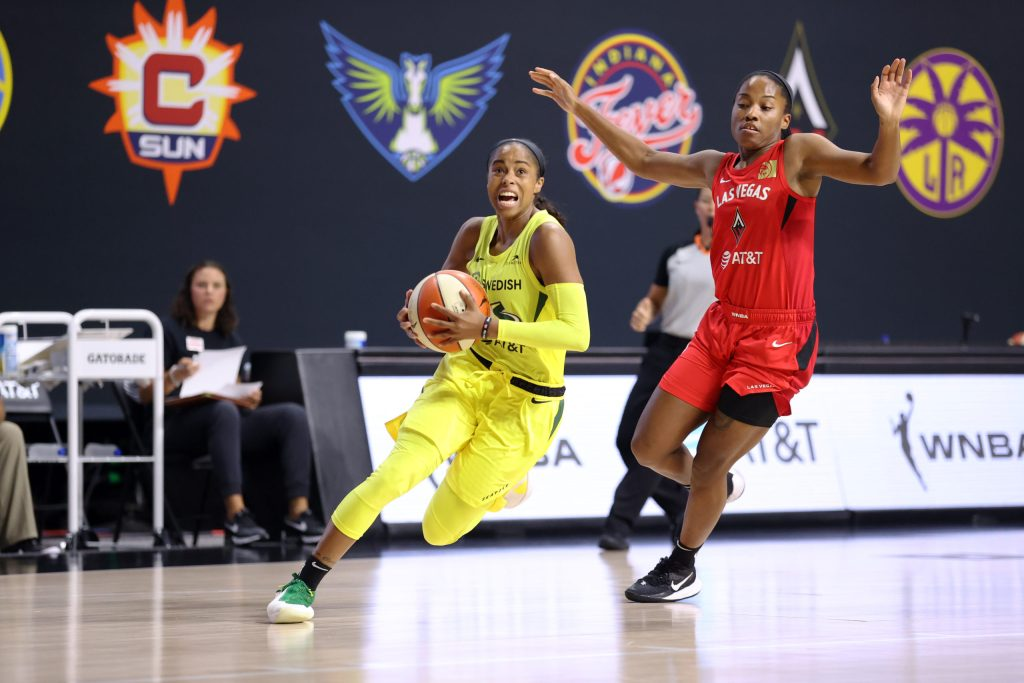 Seattle Storm lose to the Las Vegas Aces again, fall to the No. 2 seed