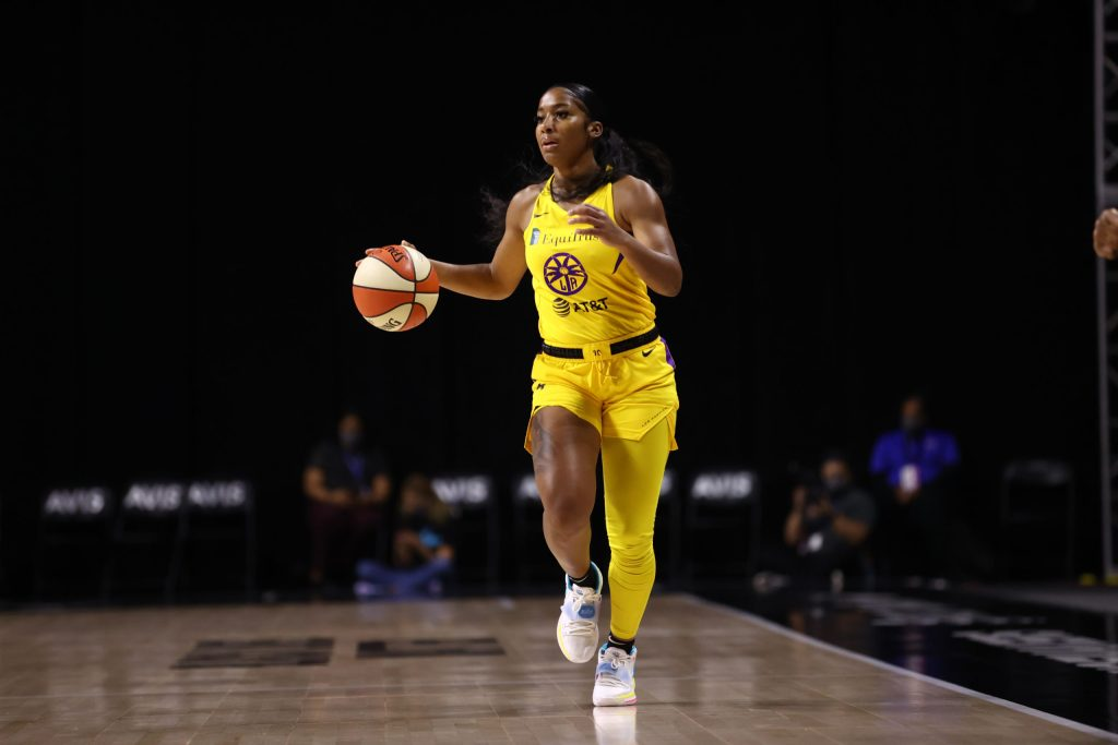 Sparks finish with third seed after loss to Aces