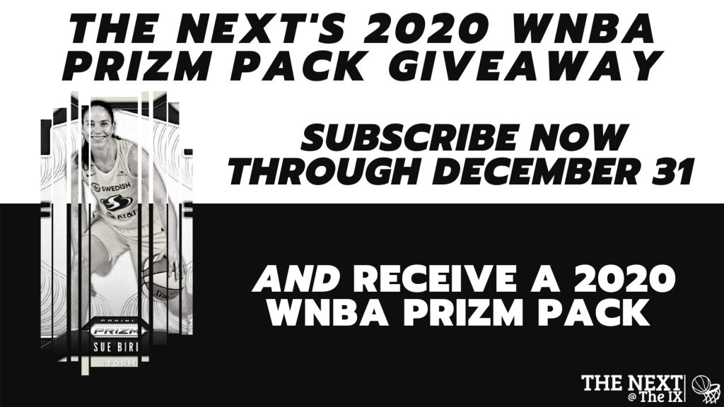 Don't miss our holiday sale: Free WNBA Prizm cards!