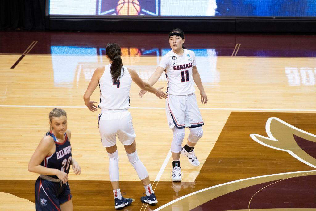 Double bubble trouble: Sisters stand out in the first two rounds of the NCAA Tournament