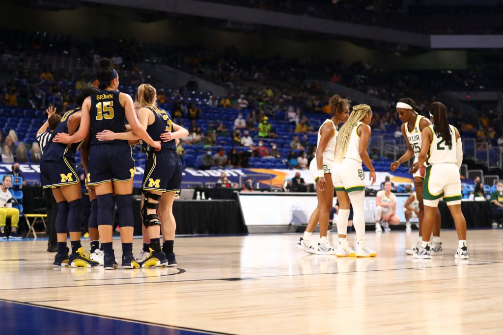 Michigan's record-breaking season ends with narrow overtime loss to Baylor