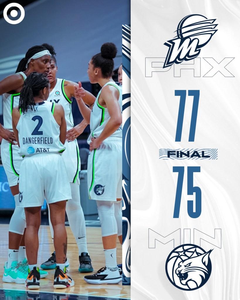 Lynx show promise despite home opener loss