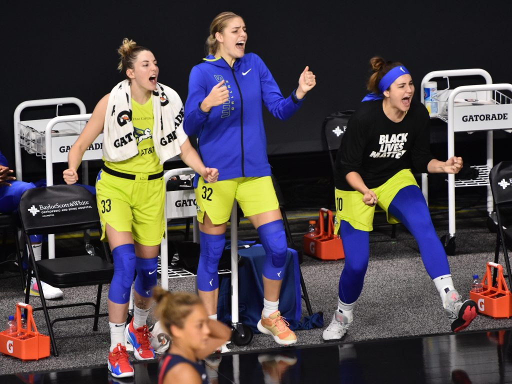 Inside Megan Gustafson's first week with the Washington Mystics