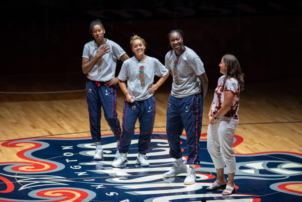 Ariel Atkins honored for making Team USA