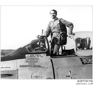 SQN LDR MM Alam in 1965