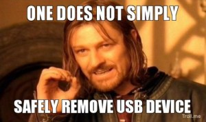 USB is working not