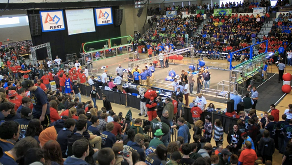 New York's Tech Valley, RPI, host FIRST Robotics Competition