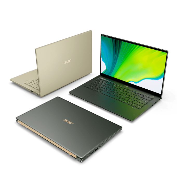 Acer Unveils New Swift 5 Ultra-Portable, Performance Notebook; Expands ConceptD Series for Creators