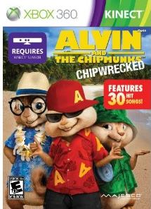 ALVIN AND THE CHIPMUNKS Chipwrecked For XBOX 360 Kinect Review The Night Owl Mama
